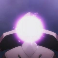 ...este Pokémon carga un rayo cuyo tipo depende de la ROM insertada.