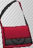 Bandolera Bicolor Rojo