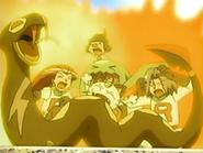 EP435 Team Rocket quemados
