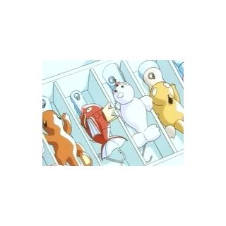 Algunos anzuelos de Pokémon.