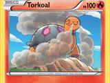 Torkoal (Destellos de Fuego TCG)