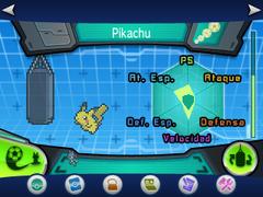 Entrenamiento base Pikachu entrenado