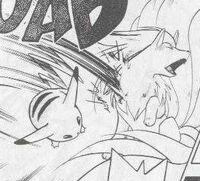 PMS018 Pikachu contra Ninetales