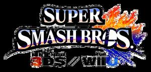 Logo SSB 3DS y Wii U