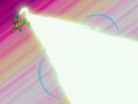 EP317 Grovyle usando rayo solar