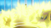 EP787 Pikachu VS Galvantula