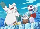 PK13 Pokémon de hielo despidiéndose