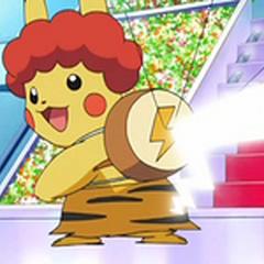 Pikachu en un <a href=