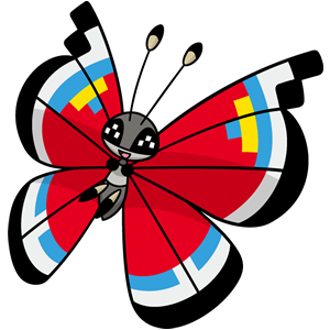 Vivillon moderno (dream world)