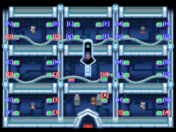 Interior del Gimnasio de Azafrán en los videojuegos