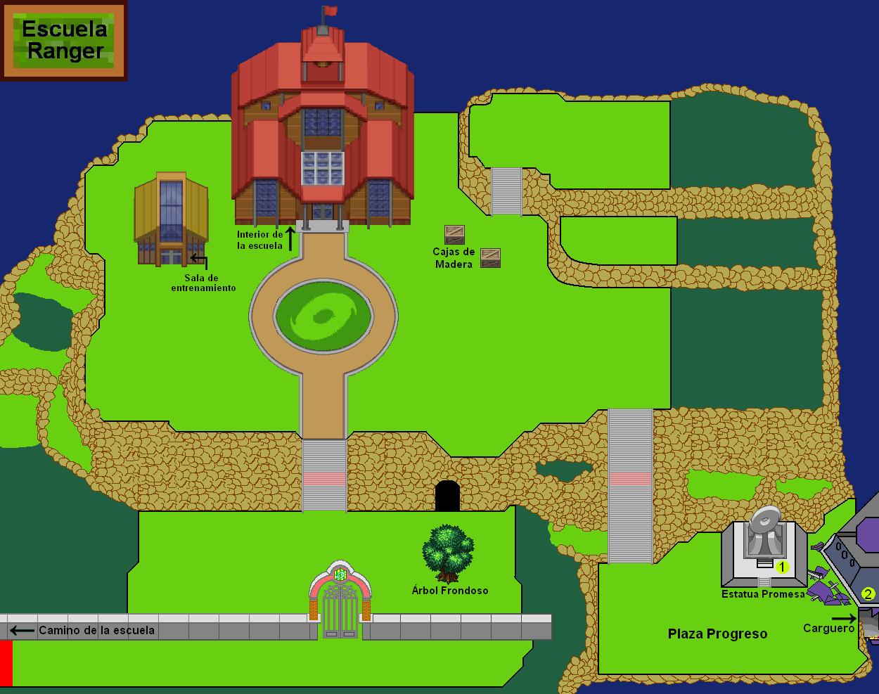Plano de Escuela Ranger