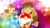 EP851 Serena y su nuevo Pokémon
