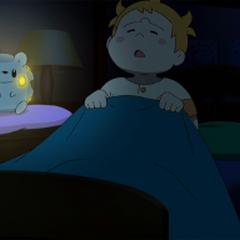 Togedemaru como lamparita de noche