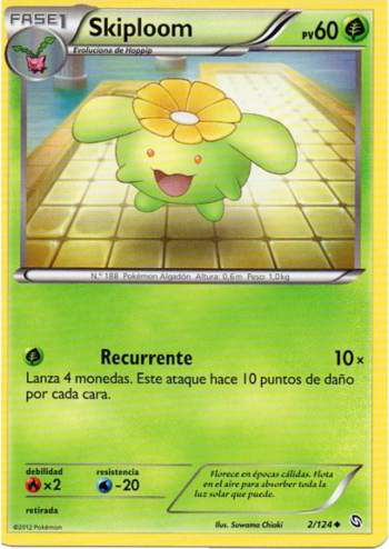 Carta de Skiploom
