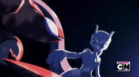 P16 Mewtwo junto a Gensect