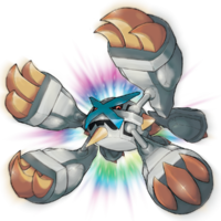 Artwork de Mega-Metagross variocolor