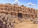 Entrada a las Ruinas Camufladas