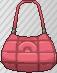 Bolso holgado rosa