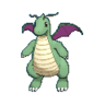 Dragonite XY variocolor
