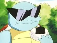 EP012 Squirtle comiendo
