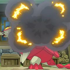 Explosión accidental