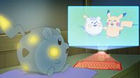 EP969 Holograma de Togedemaru y Pikachu