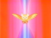 EP184 Noctowl de Ash usando profecia
