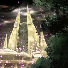 Torres del Espacio y Tiempo iluminándose al sonar la canción