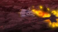 EP938 Braixen usando lanzallamas
