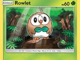 Rowlet (Sol y Luna TCG)