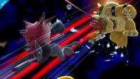 Zoroark usando golpes furia SSB4 Wii U