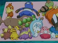 EP522 Pokémon durmiendo