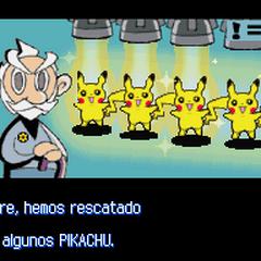 En la base SOL, ¡los Pokémon están a salvo!