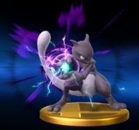 Trofeo de Mewtwo (alt.) SSB4 (Wii U)