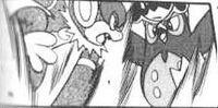 Chimhiko usando Ultra puño