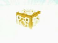 EP529 Cubo misterioso saliendo del triángulo