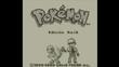 GEN01 Pantalla de inicio de Pokémon Rojo