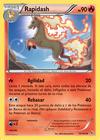 Rapidash (Destellos de Fuego TCG)