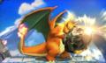 Charizard usando golpe roca SSB 3DS