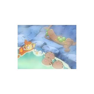 Los Swinub bañandose en el balneario.