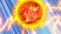 EP673 Pignite usando Golpe calor
