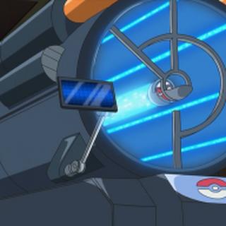 Máquina de intercambio Pokémon en la <a href=