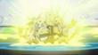 EP916 Pikachu usando rayo