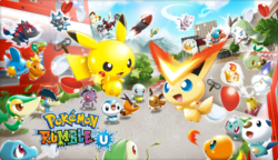 Artwork Pokémon Rumble U