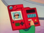 EP002 Pokédex mostrando la información de Ash