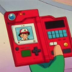 Pokédex mostrando la información de Ash.