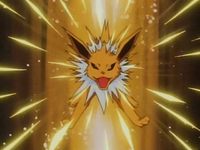 EP040 Jolteon usando pin misil