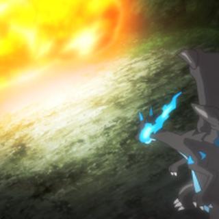 ...y provocar múltiples explosiones contra él.
