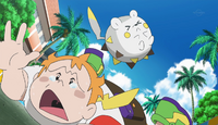 EP956 Chris y Togedemaru tras perder