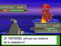 Pokémon quemado Pt